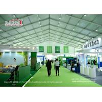 Quality Heat Resistant TFS Tents With Fire Retardant White PVC Fabric For Events for sale