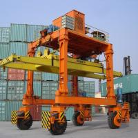 Quality Double Girder Container Gantry Crane / Movable Rail Mounted Gantry Crane for sale