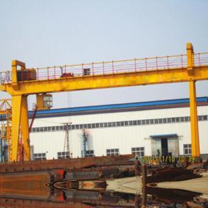Quality Industrial Double Girder Gantry Crane / 25t Mobile Overhead Gantry Crane for sale