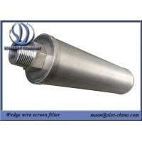 Buy cheap Candle Element For Automatic Backflushing Filter For Treatment Of Industrial from wholesalers