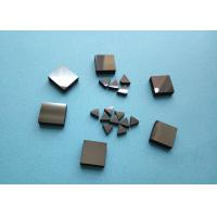Buy Wood Woking Stone Metal Cutting PCD Die Blanks , Tips Inserts PCD Square Blanks For Cutting Stone at wholesale prices
