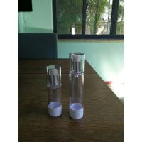 Quality 30ml 50ml  Plastic cosmetic Airless Bottle face cream airless pump bottle for sale