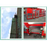Builders Rack And Pinion Hoist , Industrial Lift And Hoist Systems With Safety Hook