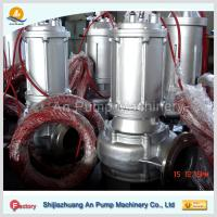 Quality electric motor driven centrifugal sewage pump for sale