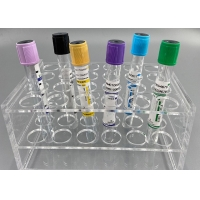 Quality HBAIC TC BNP Purple Blood Vacuum Container EDTA Vial For Blood Collection for sale