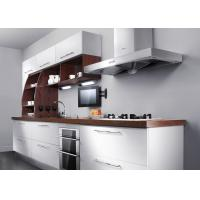 China Stainless Steel Commercial PVC Kitchen Cabinets For Small Kitchens Modern Design on sale