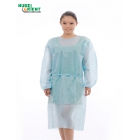 Quality OEM SMS Nonwoven Disposable Medical Isolation Gown for sale