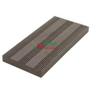 Outdoor Composite Deck Boards 137 * 23mm , High Density Grey Composite Decking