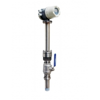 Quality 0.5% Repeatability Electromagnetic Flowmeter For TK1400 Inserted Type Series for sale