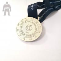Quality 3d Antique Metal Gold Medals Sports  Athletic Running Awarded 2mm  Thickness for sale