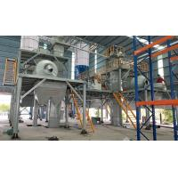 Quality PLC Control Tile Adhesive Machine Production Line With Air Compressor System for sale