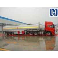 China 3 Axles 50000 Liters Fuel Semi Tanker Trailer For Carrying Storing Oil With Gun Pump Flow Meter on sale