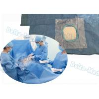 China SMMS T Shape Laparotomy Disposable Surgical Packs Integrated Fluid Collection Bag on sale
