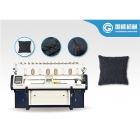 Quality School Uniform 3 System Computer Controlled Knitting Machine for sale