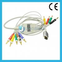 Quality HDMI 10 lead EKG Cable with lead wires for sale