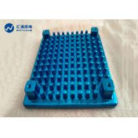 China CNC Drilling Cold Forged Metal Parts Anodized Radiator 50W-100W Electroplate on sale