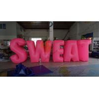 Buy cheap Sweat Characters Inflatable Product Replicas Silk Screen Printing Excellent from wholesalers