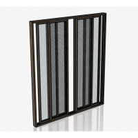 Quality House Residential Aluminum Sliding Glass Door 0.8-1.5mm Thickness for sale