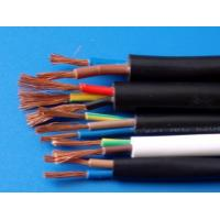 Quality RoHS UL2586 PVC Double Insulated Copper Wire Multi Core Shealth Cable for sale
