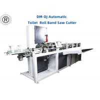 Quality 11Kw Toilet Paper Roll Band Saw Cutter  /  Automatic Cutting Machine for sale