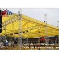 Buy cheap LED Screen Aluminum Stage Truss , Portable Stage Lighting Truss15 X 25m Size from wholesalers