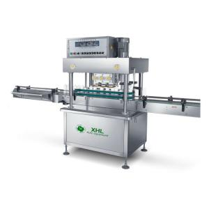 China XHL-FXG/6 Automatic Inline Bottle Cap Twisting Machine For Cosmetic on sale