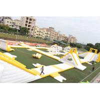 Buy cheap Big Floating 0.9mm PVC Outdoor Inflatable Water Park Equipment OEM / ODM from wholesalers