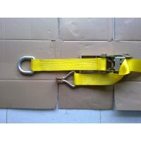 Quality Self Tightening Ratchet Tie Down Straps With D Ring GS TUV Approved for sale