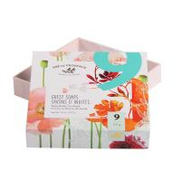 Full Color Printing Custom Rigid Boxes , Rigid Gift Boxes Hotel Guest Soap Packaging