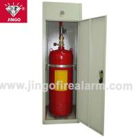 Buy cheap Fire gas extinguisher cabinet FM200 extinguishing systems 70kg from wholesalers