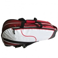 Quality Sport 600D Polyester + Pu Washable Badminton Racket Bag for sale