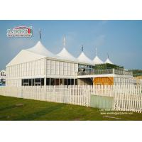 Quality 20x30m Outdoor	High Peak Tents  With Double Decker For 500 People Event Function for sale