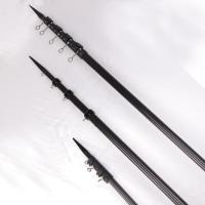 Quality Short Lead 18ft High Rigidity Carbon Fiber Poles / Black Carbon Fiber Outriggers for sale
