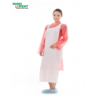 Quality Non Irritating Odorless Disposable PE Apron With Embossed Surface for sale