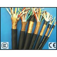 Quality Round Shield Cable for Electrical Apparatus RVV type with CE certificate in Black Color for sale