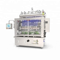 Quality Huituo automatic flowmeter piston filling machine for antiseptics, disinfector and sanitizer for sale