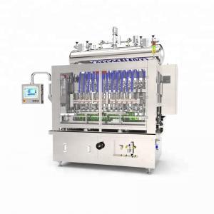Quality PLC Control 2.2KW Liquid Bottle Filling Machine for sale