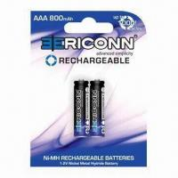 Quality AAA 800mAh/NiMH Battery/AAA Cell for sale