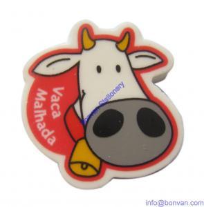 Quality cow shape eraser,cow design eraser, cow eraser for children gift promotion for sale