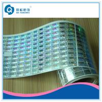 Quality Customized Roll Stickers , Clothing / Beverage Anti Counterfeiting Labels for sale