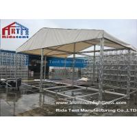 Quality TUV Certificated Aluminum Stage LightingTruss 100mm X 100mm Size Outdoor Event for sale