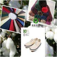 Quality 100BCIbetter cotton fabric combed  poplin plain cloth certificate for Bed cover for sale
