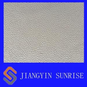 China Abrasion Resistance Full Grain Imitation Leather Fabric / Automotive Upholstery Leather on sale