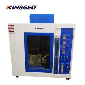 China Automatic Vertical Horizontal Burning Behavior Flammability Test Equipment / Combustion Testing Machine on sale
