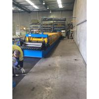 Heavy Duty Storage Rack Metal Roll Forming Equipment 8-15 M / Min For Warehouse