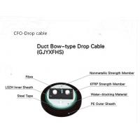Buy cheap Duct Using Bow-type Drop Cable GJYXFHS with PSP and PE Jacket from wholesalers