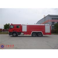 Quality Foam Loading 4000kg Tanker Fire Truck , Fire Fighting Vehicles Max Torque 2100N.M for sale