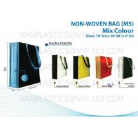 Quality NON WOVEN SHOPBAG, pp woven bags, nonwoven bags, woven bags, big bag, fibc, jumbo bags,tex for sale