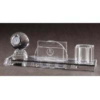 China Crystal Office Decoration, Crystal Paperweight, Crystal Pen Holder(JD-ZZ-056) on sale