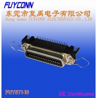 Quality 14 Pin Centronic PCB Right Angle Female Connector Certified UL for sale